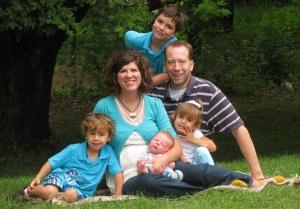 New Foust family portrait