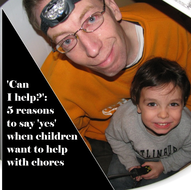 'Can I help?': 5 reasons to say 'yes' when children want to help with chores