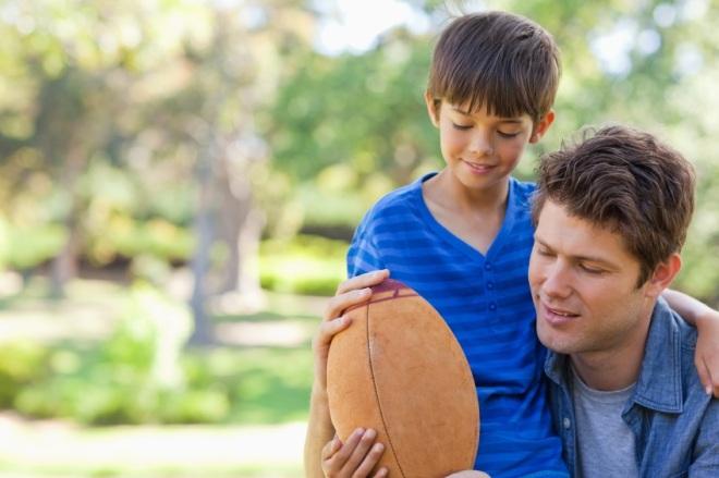 5 reasons why fatherhood is far better than football