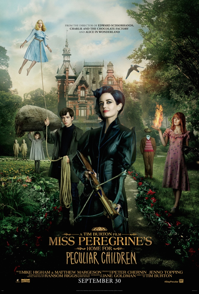 REVIEW: Is 'Miss Peregrine's Home For Peculiar Children' too scary for kids?