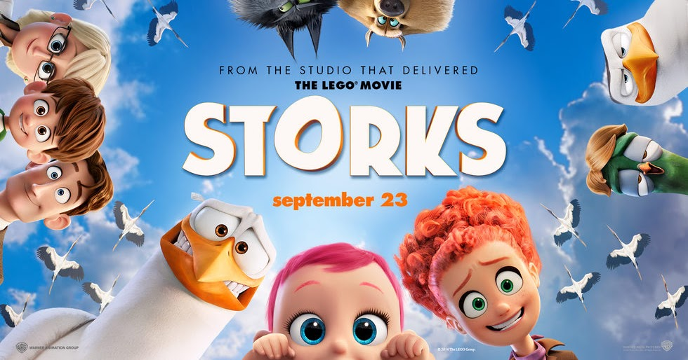 REVIEW: Is 'Storks' OK for small children? (And are there any scary parts?)
